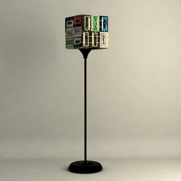 Лампы из касет (5)